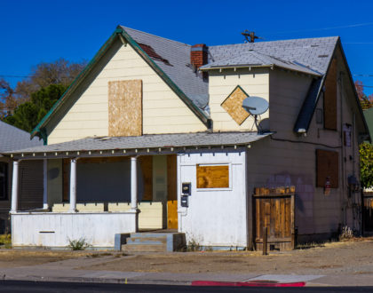 vacant home property value